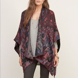 Abercrombie and Fitch Colourful Blanket Poncho